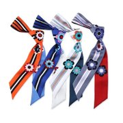 Women Lovely Printed Silk Scarf、REAL SILK LIFE