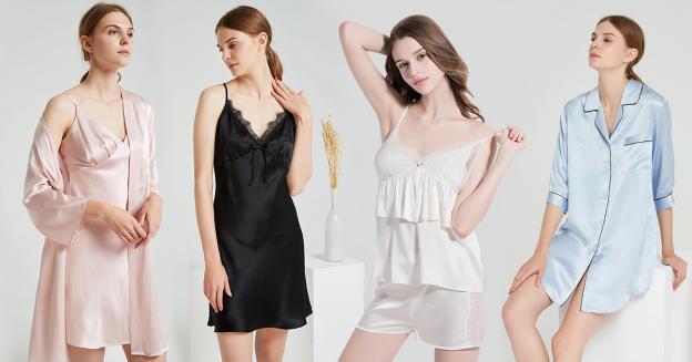 womens silk sleepwear
