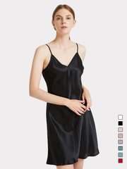 19 Momme Classic Silk Nightgown | Multi-Colors Selected、Real Silk Life