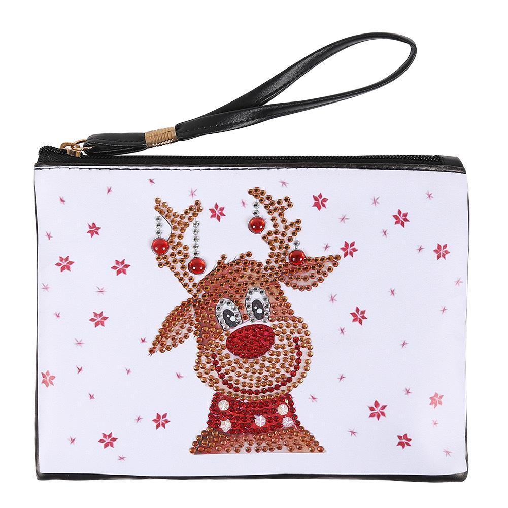 Peggybuy coupon: Deer-DIY Creative Diamond Wristlet Bag