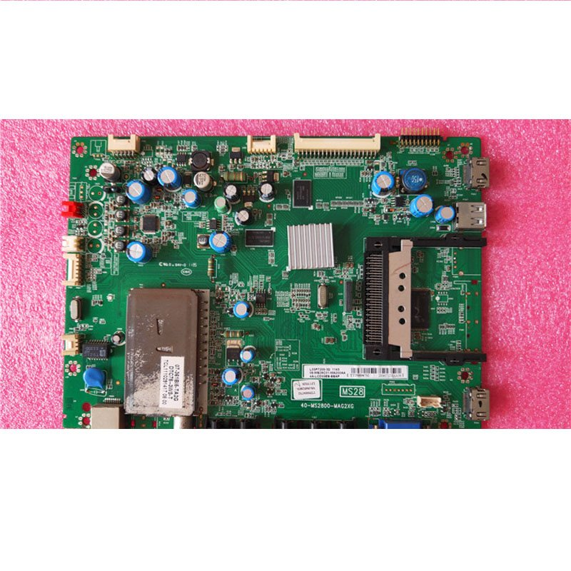 TCL L55P7200-3D Main Board 40-ms2800-mag2xg with Screen Lta550hq14 - Cakeymall