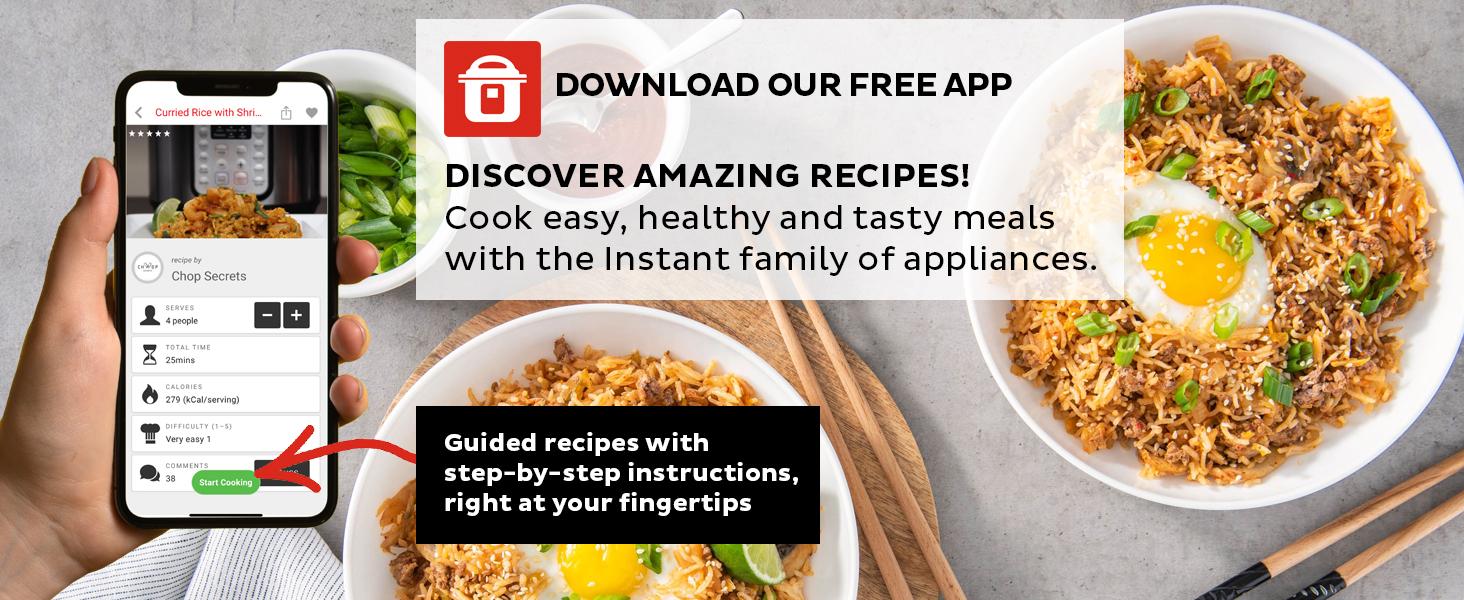 Instant Pot Recipe App
