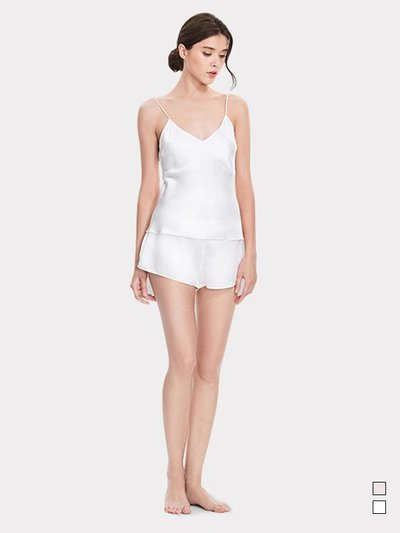 19 Momme Women's Basic Silk Camisole Set、Real Silk Life