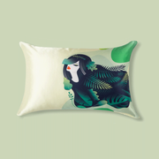 Palm Fairy Single Side Silk Pillowcase、Real Silk Life