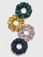 19 Momme Fashionable Silk Hair Scrunchie、REAL SILK LIFE