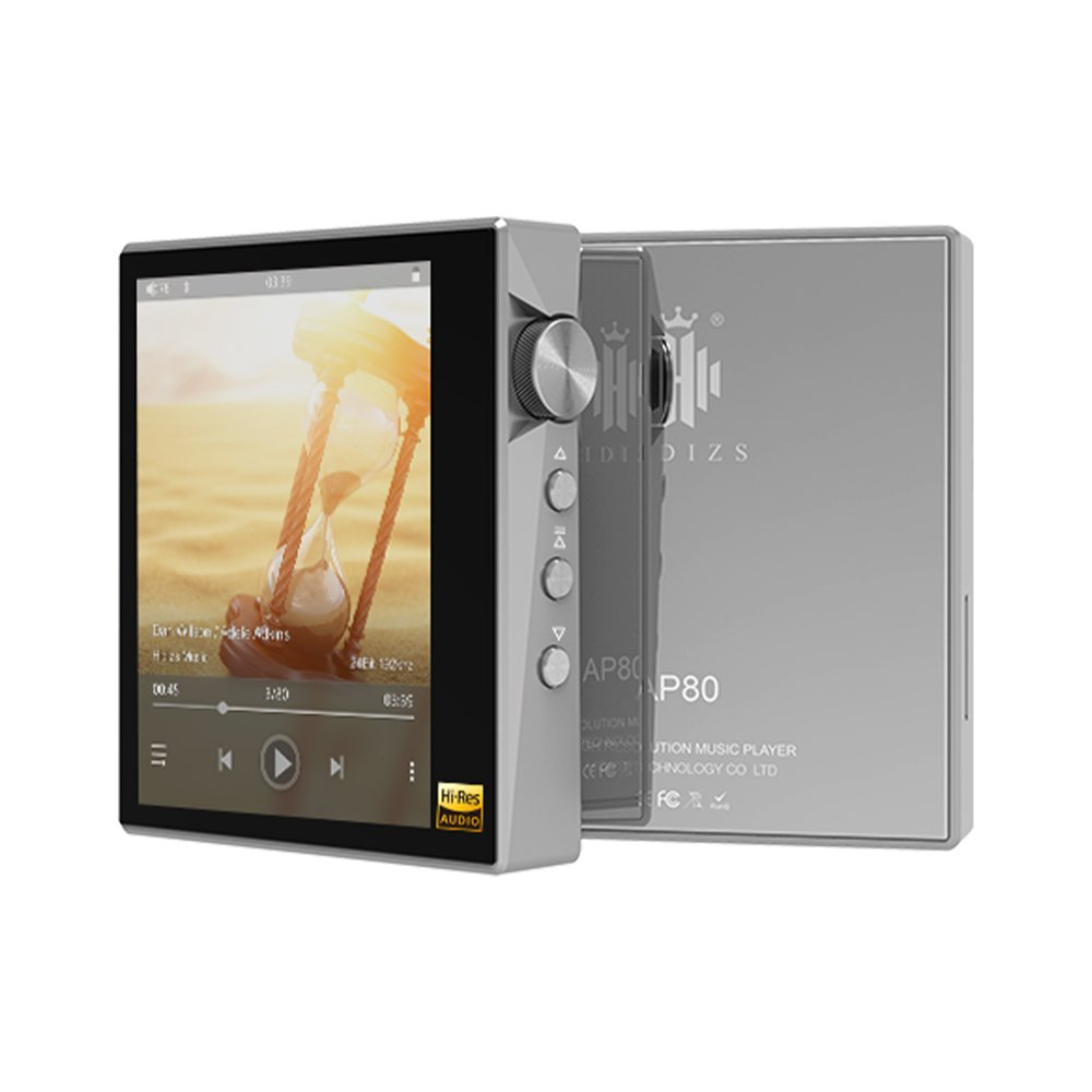 Hidizs AP80 Stainless Steel Portable Hi-Res Music Player-Hidizs