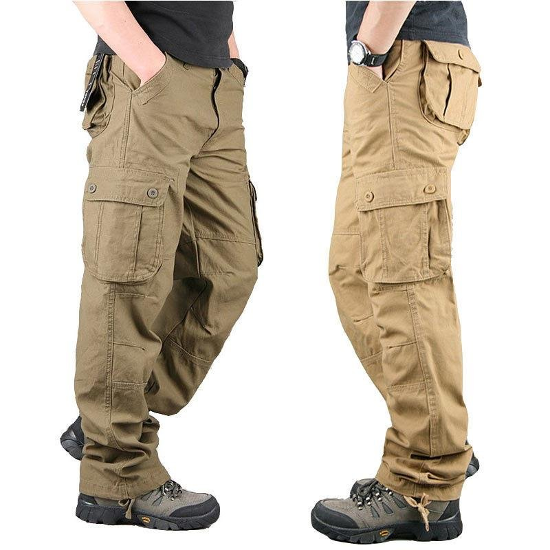 Mens Straight Mens Military Casual Pants / [viawink] /