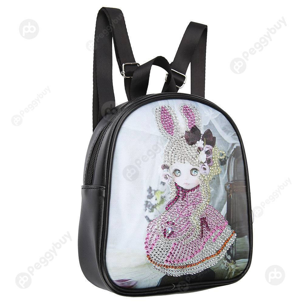 Peggybuy coupon: Cartoon Doll-DIY Creative Diamond School Bags