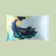 Armada Queen Single Side Silk Pillowcase、Real Silk Life