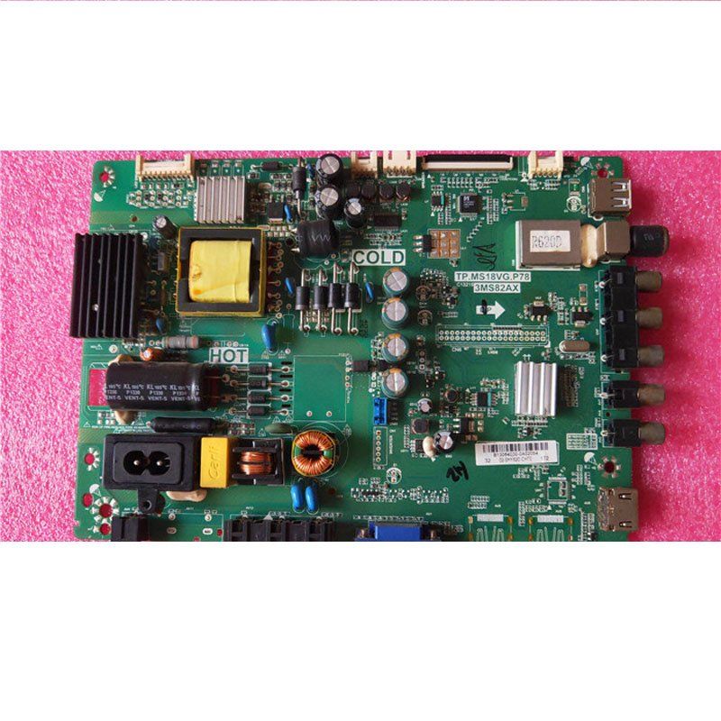 TCL Ace LCD TV L32f1560bn Motherboard Tp. Ms18gg. P78 with Screen Lvw320csdd - Cakeymall
