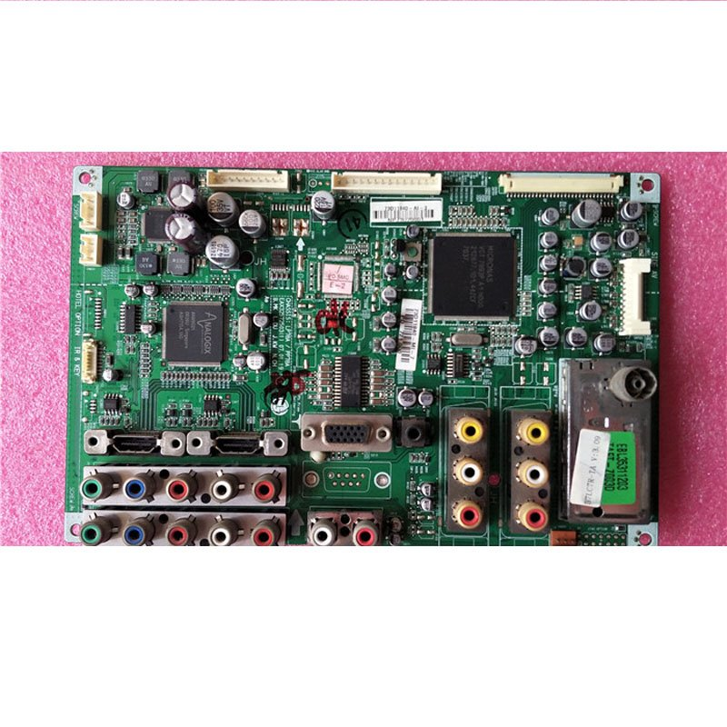 LG 37lc7r-ta Motherboard Eax32572503 (1) Screen Lc370wx3 Real Shot - Cakeymall