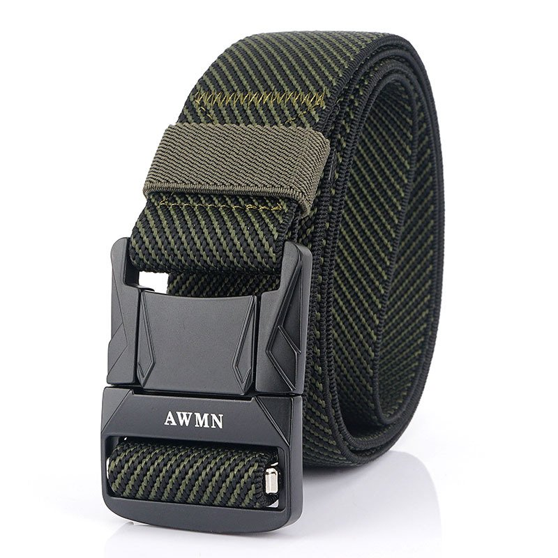 Outdoor aluminum alloy safety buckle tactical belt / [viawink] /